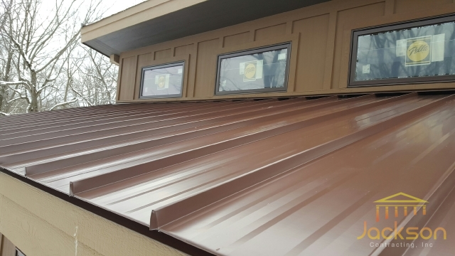 Image of Standing Seam Metal Roofing
