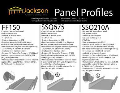 Roof Panel Profiles