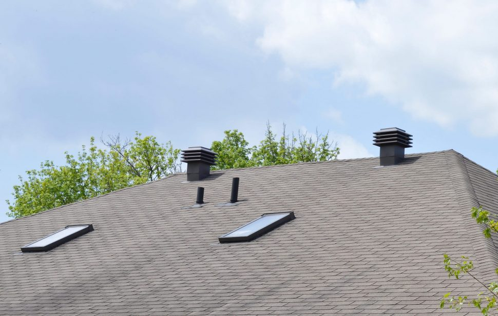 Picture of Ridge Vents and Roof Ventilation