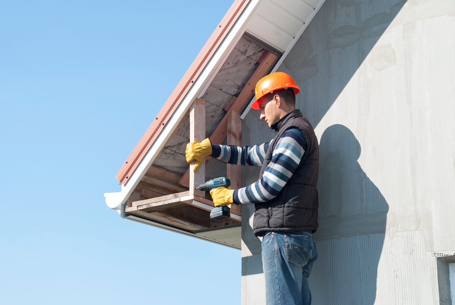 Fascia Soffit Repair Indianapolis Jackson Contracting Inc