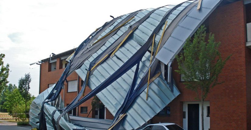 Image of Wind Damage Roof Repair